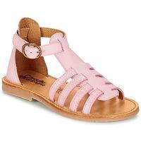 Shoes Lány Szandálok / Saruk Citrouille et Compagnie JASMA Rózsaszín