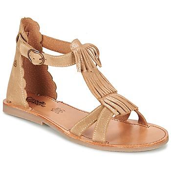 Shoes Lány Szandálok / Saruk Citrouille et Compagnie GAMELA Teve