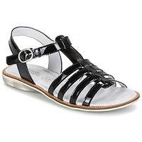 Shoes Lány Szandálok / Saruk Citrouille et Compagnie GROUFLA Fekete
