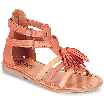 Shoes Lány Szandálok / Saruk Citrouille et Compagnie GOFARO Narancssárga