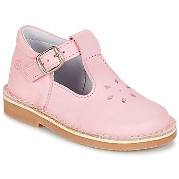 Shoes Lány Balerina cipők / babák Citrouille et Compagnie GARENIA Rózsaszín