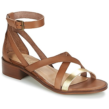 Cipők Női Szandálok / Saruk Casual Attitude COUTIL Teve / Arany