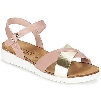 Cipők Női Szandálok / Saruk Casual Attitude GIFA Rózsaszín / Arany