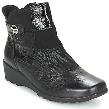 Cipők Női Bokacsizmák Romika Carree 16 Fekete