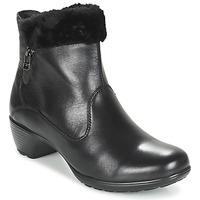 Cipők Női Bokacsizmák Romika Banja 12 Fekete