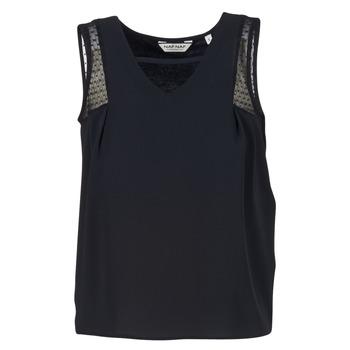 Ruhák Női Trikók / Ujjatlan pólók Naf Naf OPIPA Fekete