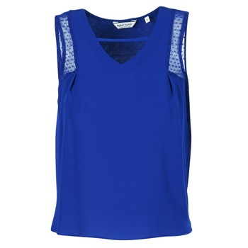 Ruhák Női Trikók / Ujjatlan pólók Naf Naf OPIPA Kék