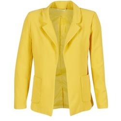 Ruhák Női Kabátok / Blézerek Only DUBLIN Citromsárga