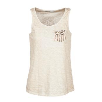material Női Trikók / Ujjatlan pólók Only VIOLA Bézs