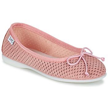 Shoes Lány Balerina cipők / babák Citrouille et Compagnie GERRAGO Rózsaszín