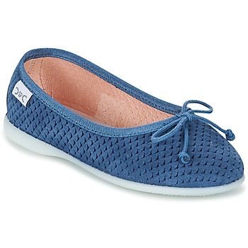 Shoes Lány Balerina cipők / babák Citrouille et Compagnie GERRAGO Kék