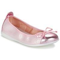 Cipők Lány Balerina cipők / babák Citrouille et Compagnie GRAGON Rózsaszín / Fényes