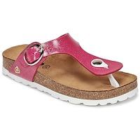 Shoes Lány Lábujjközös papucsok Citrouille et Compagnie GOMINET Rózsaszín