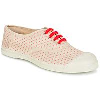 Cipők Női Rövid szárú edzőcipők Bensimon TENNIS MINIPOIS Ekrü / Rózsaszín