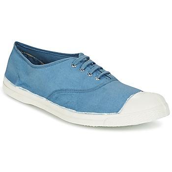Cipők Férfi Rövid szárú edzőcipők Bensimon TENNIS LACET Kék