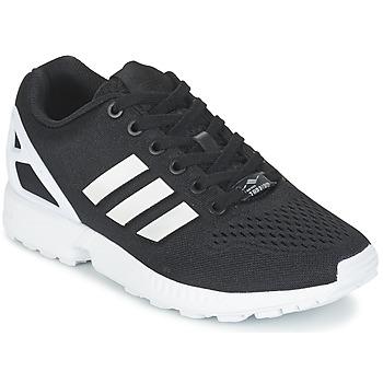 Cipők Rövid szárú edzőcipők adidas Originals ZX FLUX EM Fekete