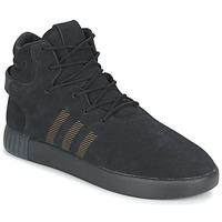 Cipők Férfi Rövid szárú edzőcipők adidas Originals TUBULAR INVADER Fekete