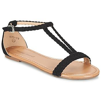 Shoes Női Szandálok / Saruk Moony Mood GEMINIELLE Fekete