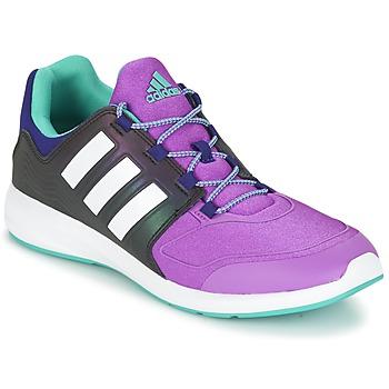 Cipők Gyerek Rövid szárú edzőcipők adidas Originals S-FLEX K Fekete  / Lila