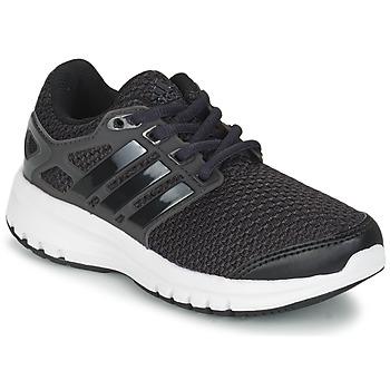 Cipők Fiú Rövid szárú edzőcipők adidas Performance ENERGY CLOUD K Fekete