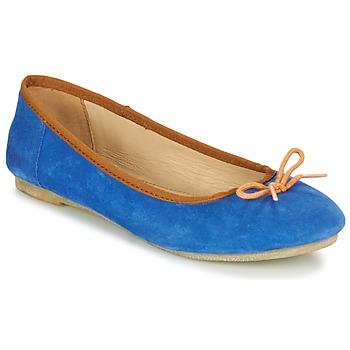 Cipők Női Balerina cipők / babák Kickers BAIE Kék / Narancssárga