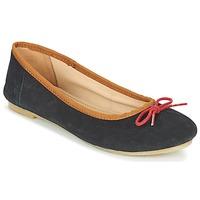Cipők Női Balerina cipők / babák Kickers BAIE Fekete  / Piros