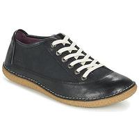 Cipők Női Oxford cipők Kickers HOLLYDAY Fekete