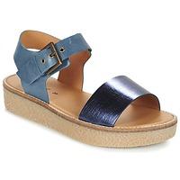 Cipők Női Szandálok / Saruk Kickers VICTORY Kék