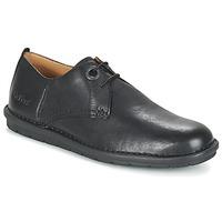 Cipők Férfi Oxford cipők Kickers VIKANG Fekete