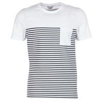 Ruhák Férfi Rövid ujjú pólók Jack & Jones APRIL CORE Fehér / Tengerész