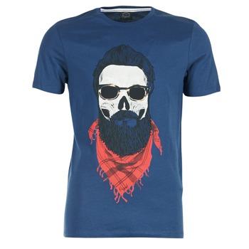 Ruhák Férfi Rövid ujjú pólók Jack & Jones TRICK ORIGINALS Tengerész