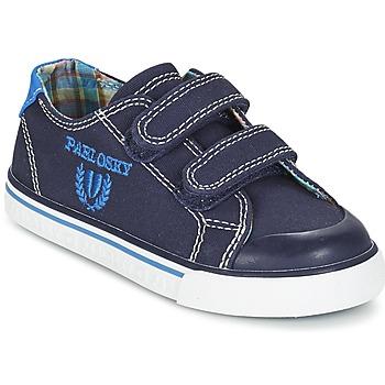 Cipők Fiú Rövid szárú edzőcipők Pablosky TEDOUME Kék