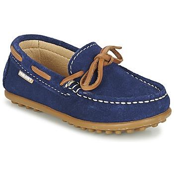 Cipők Fiú Vitorlás cipők Pablosky RACEZE Kék