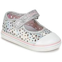 Shoes Lány Balerina cipők / babák Pablosky MEZINILE Ezüst