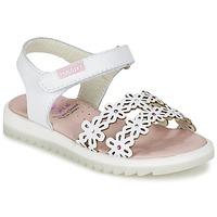 Shoes Lány Szandálok / Saruk Pablosky COULOIME Fehér