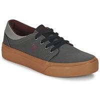 Cipők Gyerek Rövid szárú edzőcipők DC Shoes TRASE TX B SHOE XSSR Szürke / Piros