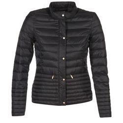 Ruhák Női Steppelt kabátok Esprit DOUDIALO Fekete