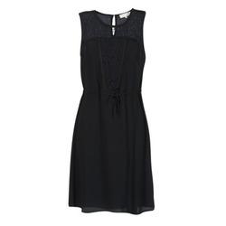 material Női Rövid ruhák Cream DONA Fekete