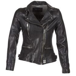Ruhák Női Bőrkabátok / műbőr kabátok Oakwood VIDEO Fekete