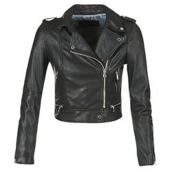 Ruhák Női Bőrkabátok / műbőr kabátok Oakwood YOKO Fekete