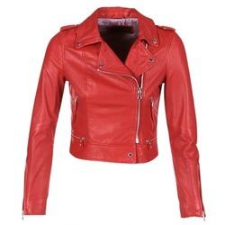 Ruhák Női Bőrkabátok Oakwood 62326 Piros