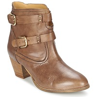 Cipők Női Bokacsizmák Casual Attitude SANOU Barna