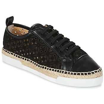 Cipők Női Rövid szárú edzőcipők Sonia Rykiel 622348 Fekete