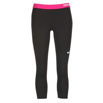 material Női Legging-ek Nike NP CL CAPRI Fekete  / Rózsaszín