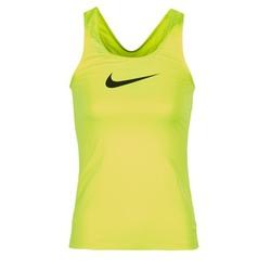 Ruhák Női Trikók / Ujjatlan pólók Nike NIKE PRO COOL TANK Citromsárga
