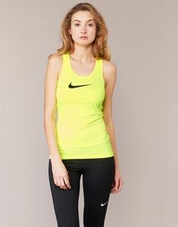 material Női Trikók / Ujjatlan pólók Nike NIKE PRO COOL TANK Citromsárga