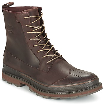 Shoes Férfi Csizmák Sorel MADSON WINGTIP BOOT Barna