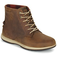 Shoes Férfi Csizmák Columbia DAVENPORT SIX WATERPROOF LEATHER Elk / Buro