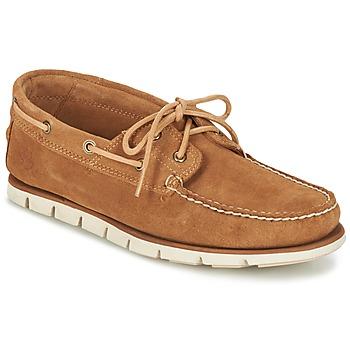 Cipők Férfi Vitorlás cipők Timberland Tidelands 2 Eye Barna