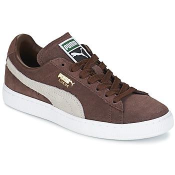 Cipők Rövid szárú edzőcipők Puma SUEDE.BROWN/SESAME Barna